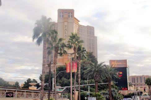 My trip to Las Vegas-- the Strip view